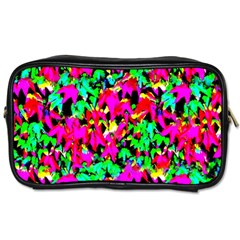 Colorful Leaves Toiletries Bags 2 Side by Costasonlineshop