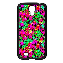 Colorful Leaves Samsung Galaxy S4 I9500/ I9505 Case (black) by Costasonlineshop