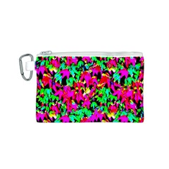 Colorful Leaves Canvas Cosmetic Bag (s) by Costasonlineshop