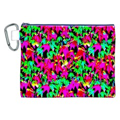 Colorful Leaves Canvas Cosmetic Bag (xxl)  by Costasonlineshop