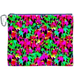 Colorful Leaves Canvas Cosmetic Bag (xxxl)  by Costasonlineshop