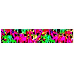 Colorful Leaves Flano Scarf (large)  by Costasonlineshop
