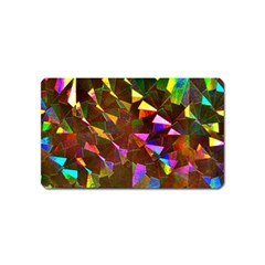 Cool Glitter Pattern Magnet (name Card) by Costasonlineshop