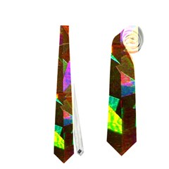 Cool Glitter Pattern Neckties (two Side)  by Costasonlineshop