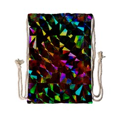 Cool Glitter Pattern Drawstring Bag (small) by Costasonlineshop