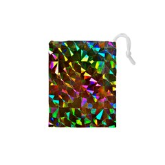 Cool Glitter Pattern Drawstring Pouches (xs)  by Costasonlineshop