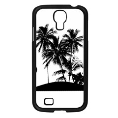 Tropical Scene Island Sunset Illustration Samsung Galaxy S4 I9500/ I9505 Case (black) by dflcprints