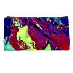 Abstract Painting Blue,yellow,red,green Pencil Cases by Costasonlineshop