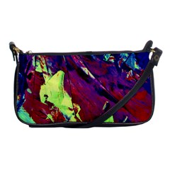 Abstract Painting Blue,yellow,red,green Shoulder Clutch Bags by Costasonlineshop
