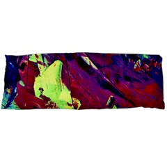 Abstract Painting Blue,Yellow,Red,Green Body Pillow Cases (Dakimakura)  by Costasonlineshop