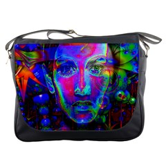 Night Dancer Messenger Bags by icarusismartdesigns