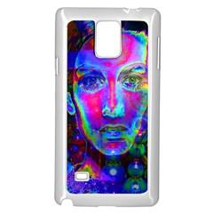 Night Dancer Samsung Galaxy Note 4 Case (white) by icarusismartdesigns