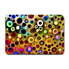 Colourful Circles Pattern Small Doormat  by Costasonlineshop