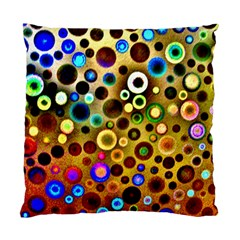 Colourful Circles Pattern Standard Cushion Cases (two Sides)  by Costasonlineshop
