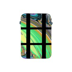 Black Window With Colorful Tiles Apple Ipad Mini Protective Soft Cases by theunrulyartist