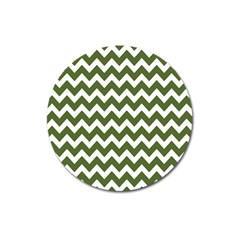 Chevron Pattern Gifts Magnet 3  (round) by creativemom
