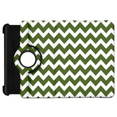 Chevron Pattern Gifts Kindle Fire Hd Flip 360 Case by creativemom