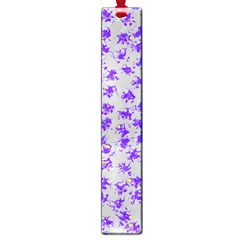 Purple Pattern Large Book Marks by JDDesigns