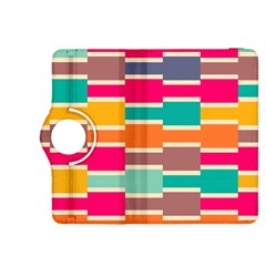 Connected Colorful Rectangles			kindle Fire Hdx 8 9  Flip 360 Case by LalyLauraFLM