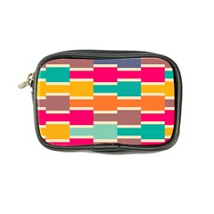 Connected Colorful Rectangles coin Purse by LalyLauraFLM