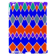 Rhombus Chainsapple Ipad 3/4 Hardshell Case (compatible With Smart Cover) by LalyLauraFLM