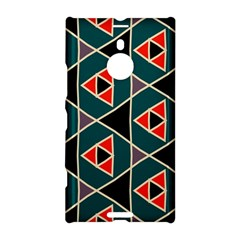 Triangles In Retro Colors Pattern			nokia Lumia 1520 Hardshell Case by LalyLauraFLM