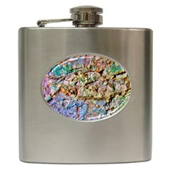 Abstract Background Wall 1 Hip Flask (6 Oz) by Costasonlineshop