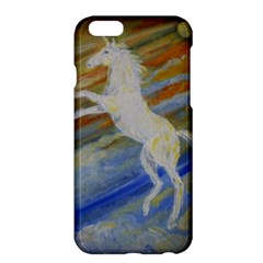Unicorn In The Sky  Apple Iphone 6 Plus/6s Plus Hardshell Case by JDDesigns