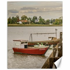 Santa Lucia River In Montevideo Uruguay Canvas 16  X 20   by dflcprints