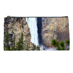 Yellowstone Waterfall Pencil Cases by trendistuff