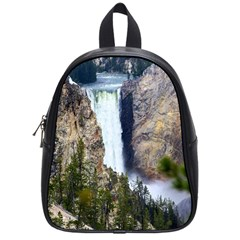 Yellowstone Waterfall School Bags (small)  by trendistuff