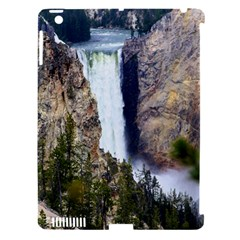 Yellowstone Waterfall Apple Ipad 3/4 Hardshell Case (compatible With Smart Cover) by trendistuff