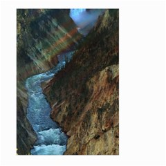 Yellowstone Lower Falls Large Garden Flag (two Sides) by trendistuff