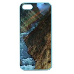Yellowstone Lower Falls Apple Seamless Iphone 5 Case (color) by trendistuff