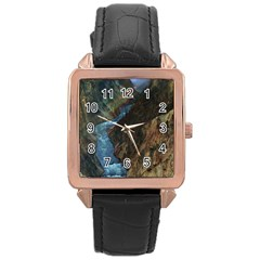 YELLOWSTONE LOWER FALLS Rose Gold Watches