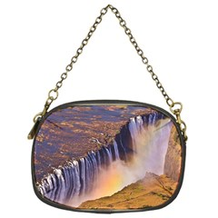 Waterfall Africa Zambia Chain Purses (one Side)  by trendistuff