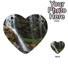WATERFALL Playing Cards 54 (Heart)  by trendistuff