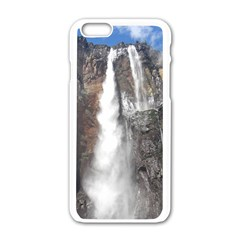 SALTO DEL ANGEL Apple iPhone 6/6S White Enamel Case by trendistuff