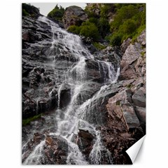 Mountain Waterfall Canvas 18  X 24   by trendistuff
