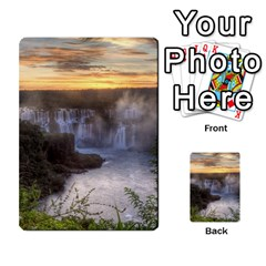 Iguazu Falls Multi Purpose Cards (rectangle)  by trendistuff