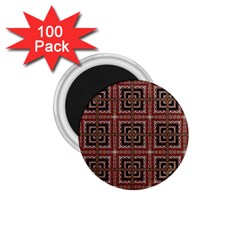 Check Ornate Pattern 1 75  Magnets (100 Pack)  by dflcprints