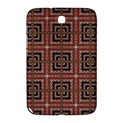 Check Ornate Pattern Samsung Galaxy Note 8.0 N5100 Hardshell Case  by dflcprints