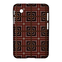 Check Ornate Pattern Samsung Galaxy Tab 2 (7 ) P3100 Hardshell Case  by dflcprints