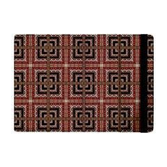 Check Ornate Pattern Ipad Mini 2 Flip Cases by dflcprints