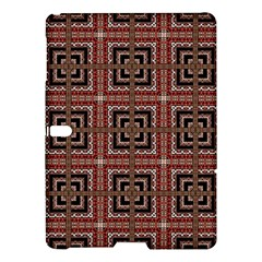 Check Ornate Pattern Samsung Galaxy Tab S (10 5 ) Hardshell Case  by dflcprints