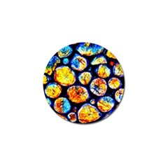 Woodpile Abstract Golf Ball Marker by Costasonlineshop