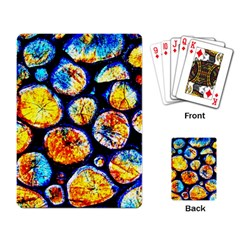 Woodpile Abstract Playing Card by Costasonlineshop