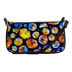 Woodpile Abstract Shoulder Clutch Bags by Costasonlineshop