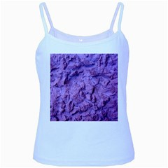 Purple Wall Background Baby Blue Spaghetti Tanks by Costasonlineshop