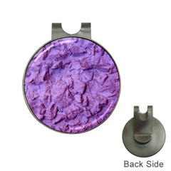 Purple Wall Background Hat Clips With Golf Markers by Costasonlineshop